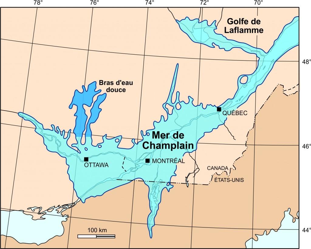 Mer de Champlain. 6_Extension_Champlain