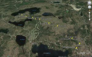 Dunany Trail Google Earth