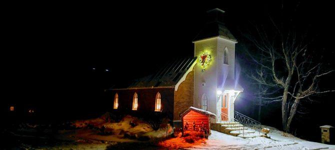 Un Noël bien calme à Dunany, de l'espoir pour 2021 et les meilleurs vœux de l'ARD et l'église St-Paul.